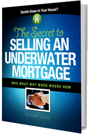book cover: the secret to selling your underwater mortgage
